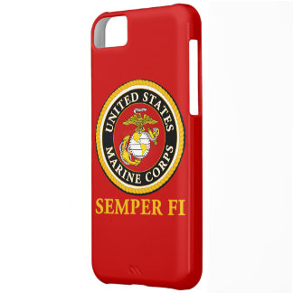US Marine Official Seal - Semper Fi iPhone 5C Cover
