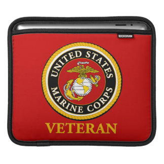 US Marine Official Seal - Veteran Sleeve For iPads