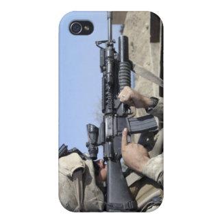 US Marine sites through the scope iPhone 4/4S Case