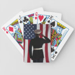 Us Marine USA flag Bicycle Card Deck