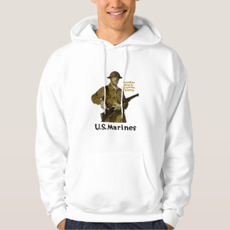 US Marines -- Another Notch Chateau Thierry Hoodie