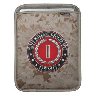US Marines: Chief Warrant Five (USMC CWO-5) [3D] iPad Sleeve
