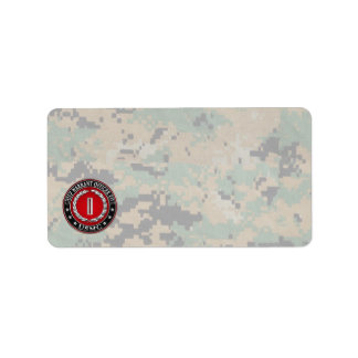 US Marines: Chief Warrant Five (USMC CWO-5) [3D] Label