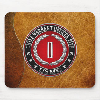US Marines: Chief Warrant Five (USMC CWO-5) [3D] Mouse Pad