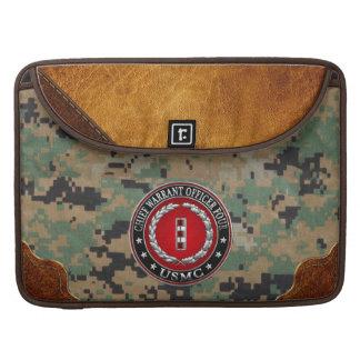 US Marines: Chief Warrant Four (USMC CWO-4) [3D] MacBook Pro Sleeves