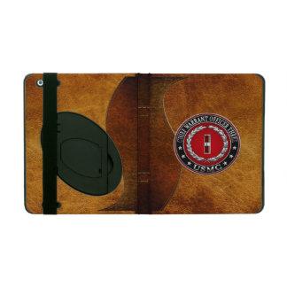 US Marines: Chief Warrant Three (USMC CWO-3) [3D] iPad Folio Case