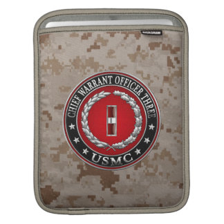 US Marines: Chief Warrant Three (USMC CWO-3) [3D] Sleeves For iPads