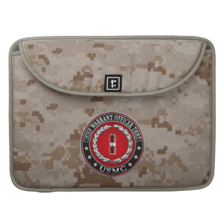 US Marines: Chief Warrant Three (USMC CWO-3) [3D] MacBook Pro Sleeve