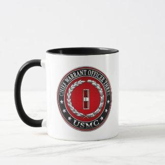 US Marines: Chief Warrant Three (USMC CWO-3) [3D] Mug