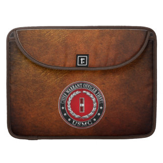 US Marines: Chief Warrant Three (USMC CWO-3) [3D] Sleeve For MacBook Pro