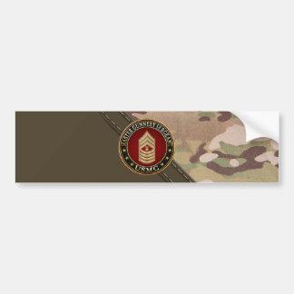 US Marines: Master Gunnery Sergeant (USMC MGySgt) Car Bumper Sticker
