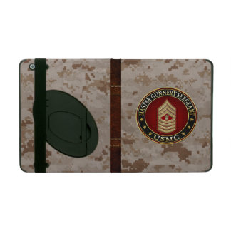 US Marines: Master Gunnery Sergeant (USMC MGySgt) iPad Case
