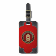 US Marines: Master Gunnery Sergeant (USMC MGySgt) Luggage Tag