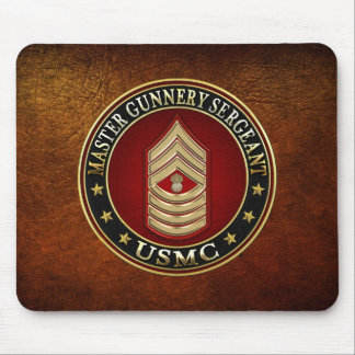US Marines: Master Gunnery Sergeant (USMC MGySgt) Mouse Pads