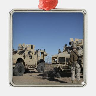 US Marines Metal Ornament