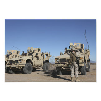 US Marines Photo Print