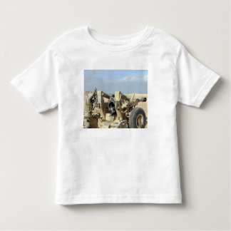 US Marines prepare to fire a howitzer 2 Toddler T-shirt