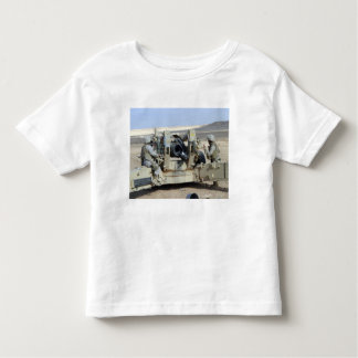 US Marines prepare to fire a howitzer Toddler T-shirt