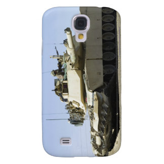 US Marines provide security in a battle tank Samsung Galaxy S4 Case