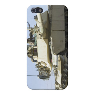 US Marines provide security in a battle tank iPhone SE/5/5s Case