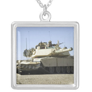 US Marines provide security in a battle tank Jewelry