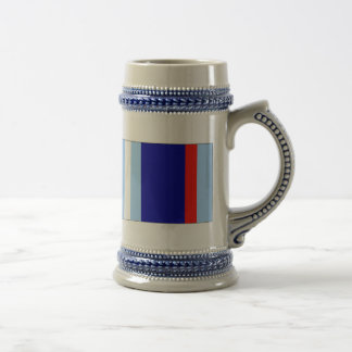 US Military Air and Space Campaign Ribbon Beer Stein