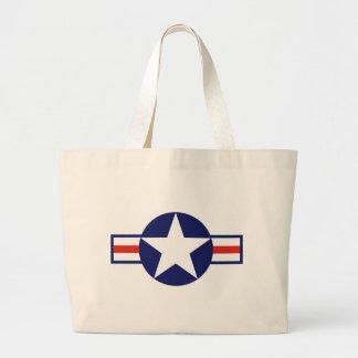 US Military Aircraft Star 1947-1999 Tote Bag