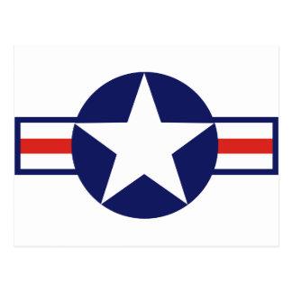 US Military Aircraft Star 1947-1999 Postcard