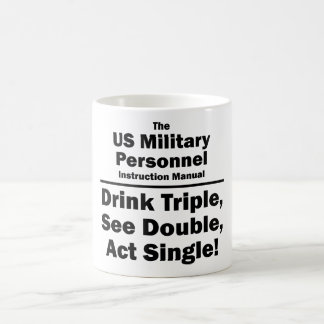 US military personnel Classic White Coffee Mug