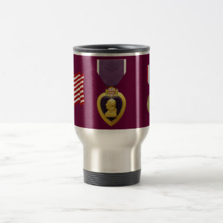 US Military Purple Heart Iraq Campaign Mug