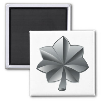 US Military Rank - Lieutenant Colonel 2 Inch Square Magnet