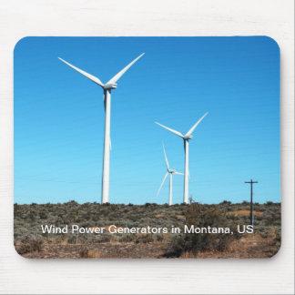US Montana Windmills Mouse Pad