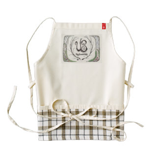 """""""Us, My Favorite Word"""" Apron Supports Mums Zazzle HEART Apron"""