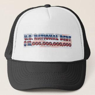 US National Debt $ 16 Trillion Dollars Trucker Hat