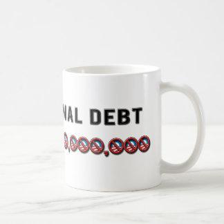 US National Debt Coffee Mug