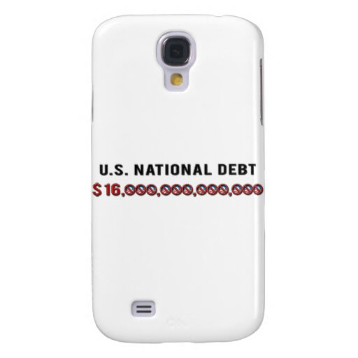 US National Debt Samsung Galaxy S4 Cover