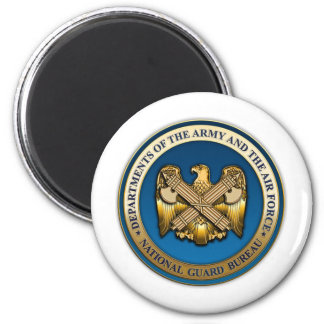 US National Guard Bureau Fridge Magnet