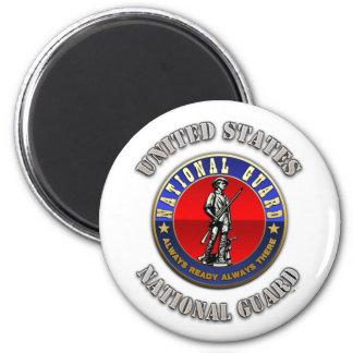 US National Guard Refrigerator Magnet