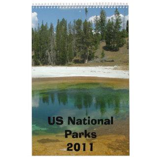US National Park Calendar 2011