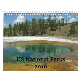 US National Parks Calendar