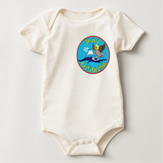 US NAVAL AIR FACILITY OPPAMA Japan Military Patch Baby Bodysuit