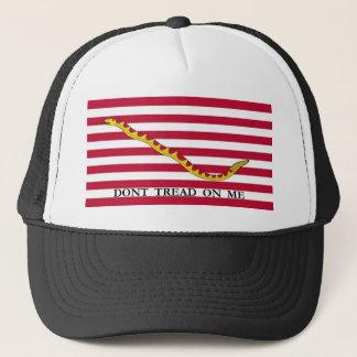 US Naval Jack - Don't Tread On Me Trucker Hat