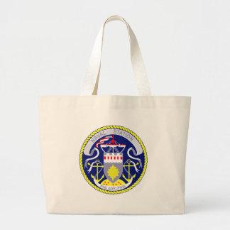 US NAVAL STATION PHILADELPHIA PENNSYLVANIA LARGE TOTE BAG