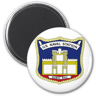 US NAVAL STATION SUBIC BAY PHILIPPINES Military Pa Magnet