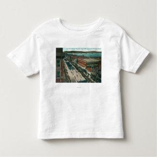 US Navy Atlantic Fleet in Harbor Toddler T-shirt