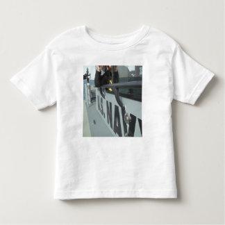 US Navy Boatswain's Mate looks through binocula Toddler T-shirt