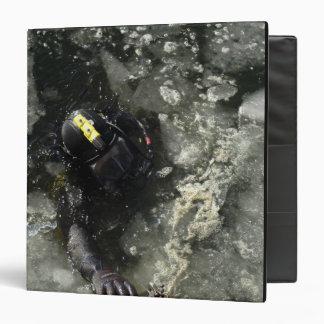 US Navy Diver 3 Ring Binder