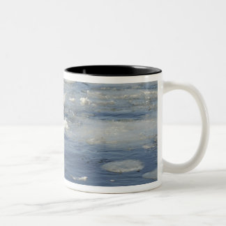 US Navy Diver signals he is okay Two-Tone Coffee Mug