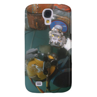 US Navy Diver uses a grinder Galaxy S4 Case