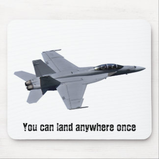 US Navy F-18 Super Hornet Mousepad
